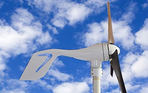 12V24V-400-Watts-Wind-Turbine-Generator-Kit-DC-White-3-Blades-with-Hybird-Charge-Controller-for-Residential-Agriculture-Marine-DIY-Installation-Providing-Off-grid-Green-Energy-Power-0-0