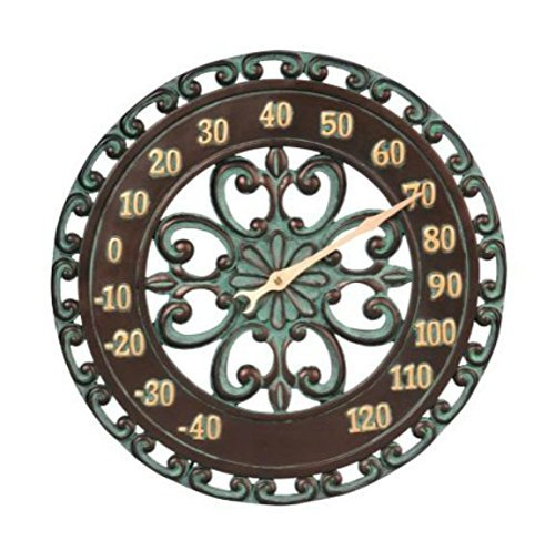 14-Medallion-Outdoor-Thermometer-Wall-Hanging-Outside-Patio-Porch-Wall-Decor-0-0