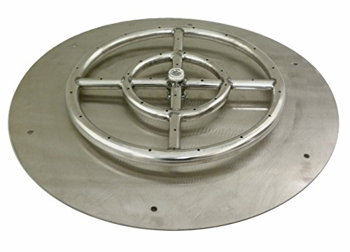 30-Inch-Round-Stainless-Steel-Flat-Fire-Pit-Burner-Pan-Natural-Gas-0-0