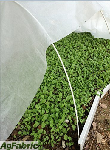 45FT-Long-Agfabric-Grow-Tunnel-kit-055oz-Floating-row-coverTunnel-Hoops-0-1