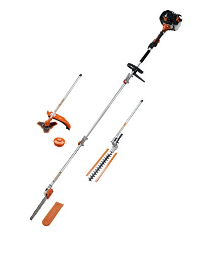 52-CC-LONG-REACH-PETROL-5in1-MULTI-POWER-TOOL-HEDGE-TRIMMER-CHAINSAW-STRIMMER-BUSH-CUTTER-FREE-EXTENTION-POLE-0