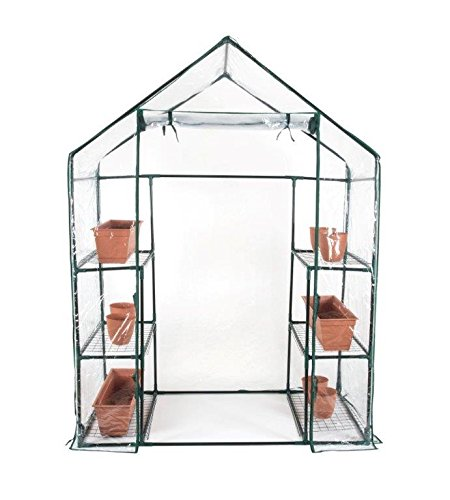 6-Shelf-3-Tier-64-Tall-Walk-In-Greenhouse-by-Trademark-Innovations-0-0