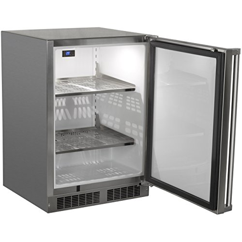 AGA-Marvel-MO24RAS1RS-Outdoor-Refrigerator-with-Lock-Right-Hinge-Stainless-Steel-Door-24-Inch-0-1