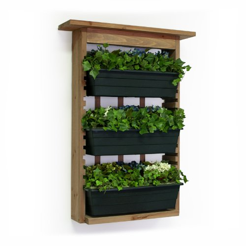 Algreen-34002-Garden-View-Vertical-Living-Wall-Planter-0