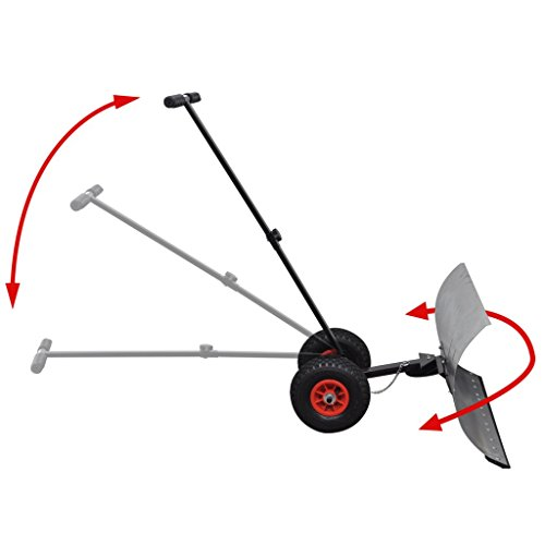 Anself-Heavy-Duty-Adjustable-Rolling-Snow-Pusher-5-Way-Adjustable-Handle-Snow-Shovel-with-10-Wheels-0-1