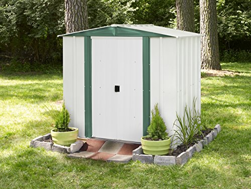Arrow-Shed-HM65-A-Hamlet-6-Feet-by-5-Feet-Steel-Storage-Shed-0
