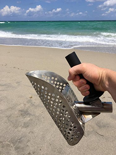 Beach-Sand-Scoop-with-handle-Metal-Detecting-Tool-Stainless-Steel-Detector-3-days-Delivery-Tool-Stainless-Steel-Water-Metal-Detecting-Fast-Sifting-Metal-detector-New-15-mm-0-1