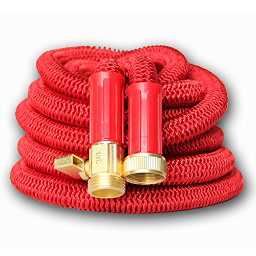 Best-100-Expanding-Hose-Strongest-Expandable-Garden-Hose-on-the-Planet-Solid-Brass-Ends-Double-Latex-Core-Extra-Strength-Fabric-2016-design-0