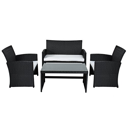 Best-Choice-Products-4-Piece-Outdoor-Garden-Patio-Cushioned-Seat-Mix-Wicker-Sofa-Furniture-Set-0