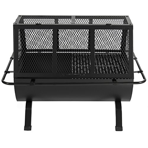 Best-Choice-Products-Steel-Grill-BBQ-Fire-Pit-Outdoor-Cooking-Patio-Yard-Campfire-0-1