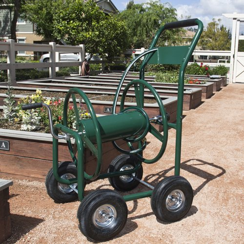 Best-Choice-Products-Water-Hose-Reel-Cart-300-FT-Outdoor-Garden-Heavy-Duty-Yard-Water-Planting-New-0