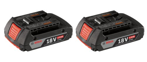 Bosch-BAT612-2PK-18-volt-Lithium-Ion-20-AH-Slim-Pack-Battery-with-Digital-Fuel-Gauge-2-Pack-0