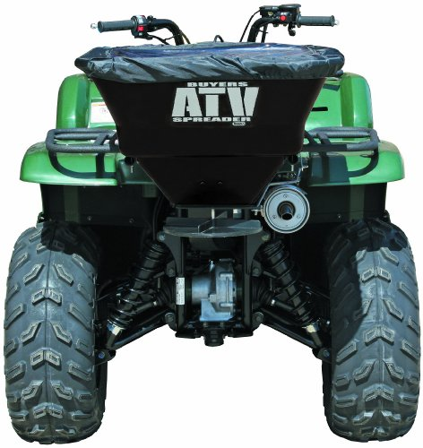 Buyers-ATVS100-100-Pound-12-Volt-Electric-ATV-Broadcast-Spreader-with-Rain-Cover-0