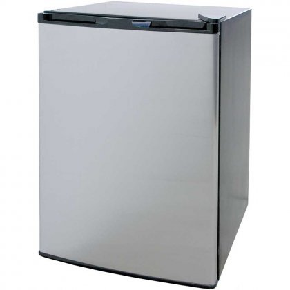 Cal-Flame-BBQ09849P-20-Compact-Refrigerator-with-46-cu-ft-Capacity-Removable-Shelves-Internal-Light-and-115-Volt-Power-Cord-in-Stainless-0