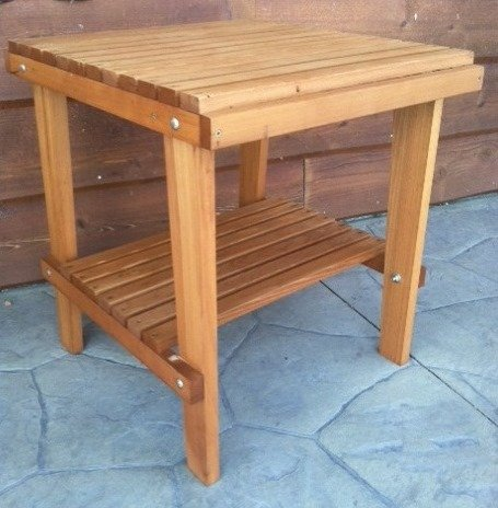 Cedar-Side-Table-with-Shelf-Stained-Finish-Amish-Crafted-0