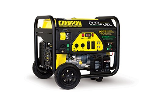 Champion-Power-Equipment-100165-7500-Watt-Dual-Fuel-Portable-Generator-with-Electric-Start-0