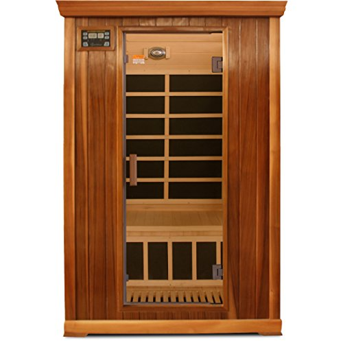 Crystal-Sauna-FWC200-2-Person-Family-Infrared-Sauna-in-Red-Cedar-0-0