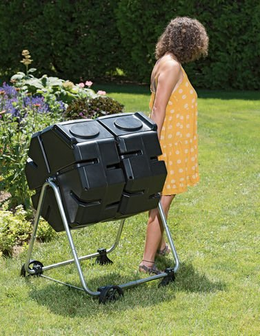 Dual-Batch-Compost-Tumbler-with-Wheels-0