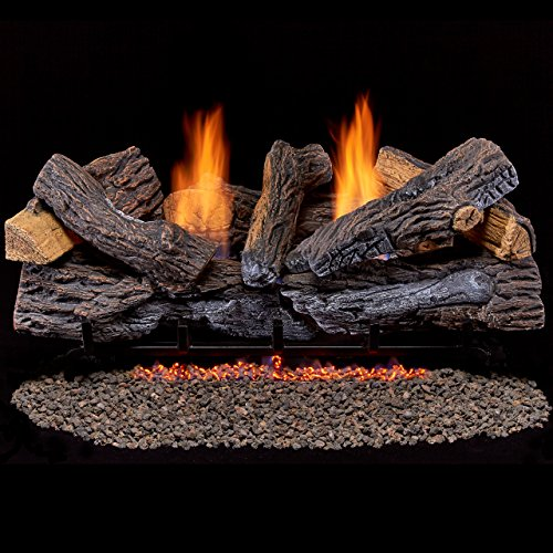 Duluth-Forge-Vent-Free-Dual-Fuel-Gas-Log-Set-30-in-Berkshire-Stacked-Oak-Remote-Control-0