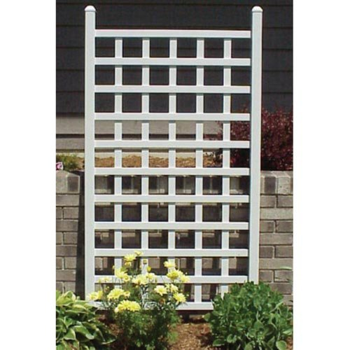 Dura-Trel-Country-5-ft-Vinyl-Wall-Trellis-0