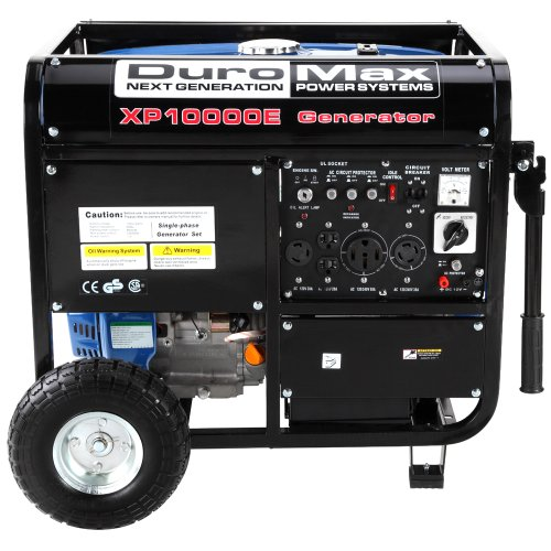 DuroMax-XP10000E-8000-Running-Watts10000-Starting-Watts-Gas-Powered-Portable-Generator-0-0
