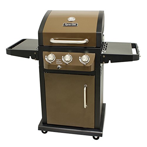 Dyna-Glo-DGB390SNP-D-Smart-Space-Living-36000-BTU-3-Burner-LP-Gas-Grill-0