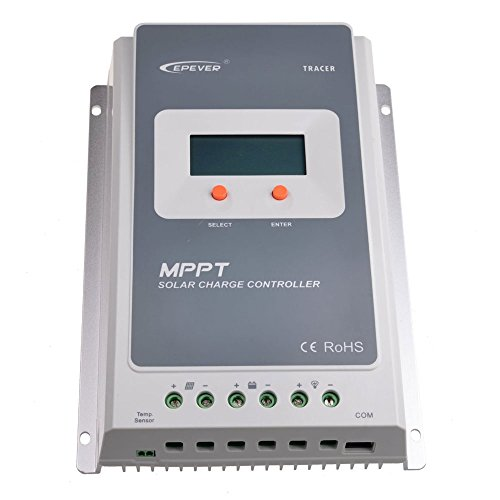 EPEVER-30A-MPPT-Solar-Charge-Controller-100V-input-Tracer-A-Series-3210A-MT-50-Solar-Charge-LCD-Display-0-0
