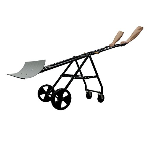 EasyGo-Folding-Four-Wheeled-Snow-Plow-Foldable-4-Wheel-Snow-Pusher-and-Thrower-Ergonomic-Prevents-Back-Pain-0-1
