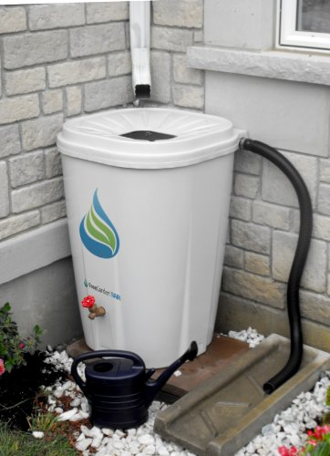 Enviro-World-Corporation-Rain-Barrel-with-Brass-Spigot-55-Gallon-0