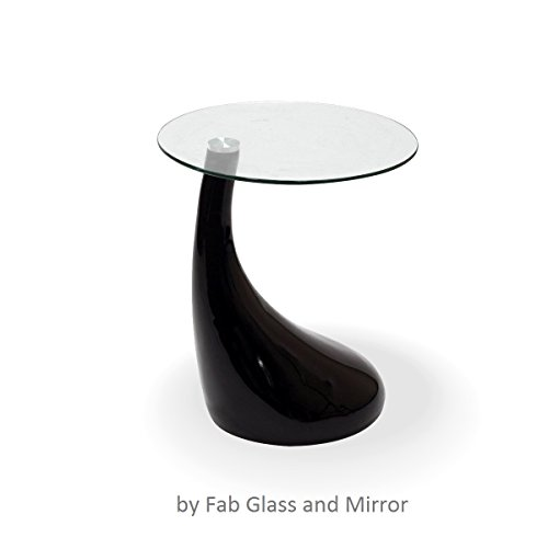 Fab-Glass-and-Mirror-Teardrop-Side-Table-Black-0