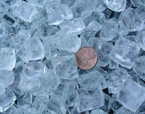 Fireplace-Fire-Pit-Glass-Chunky-34-Clear-with-slight-aqua-tint-10-LB-0