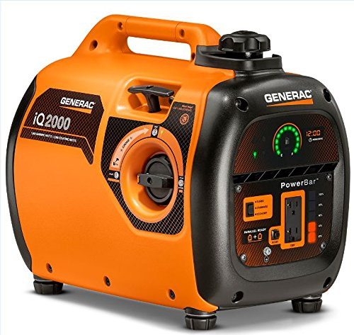 Generac-6866-iQ2000-1600-Running-Watts2000-Starting-Watts-Gas-Powered-Quiet-Portable-Inverter-Generator-CARB-Compliant-0-0