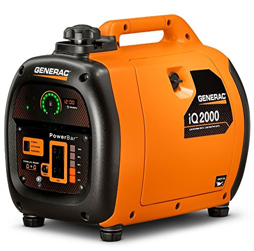 Generac-6866-iQ2000-1600-Running-Watts2000-Starting-Watts-Gas-Powered-Quiet-Portable-Inverter-Generator-CARB-Compliant-0-1
