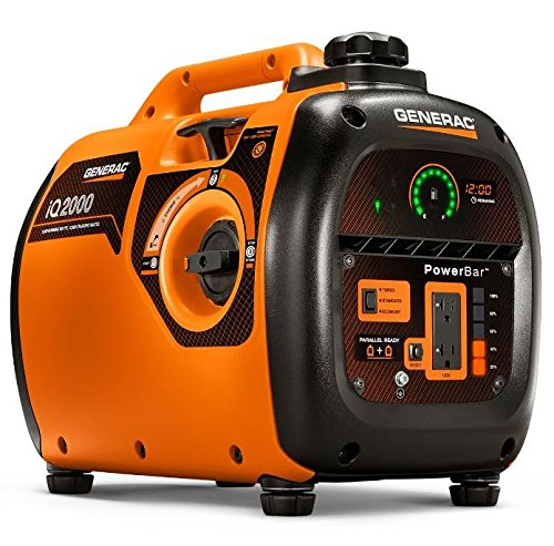 Generac-6866-iQ2000-1600-Running-Watts2000-Starting-Watts-Gas-Powered-Quiet-Portable-Inverter-Generator-CARB-Compliant-0