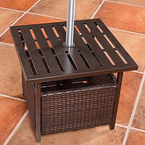 Giantex-Brown-Rattan-Wicker-Steel-Side-Table-Outdoor-Furniture-Deck-Garden-Patio-Pool-0-1