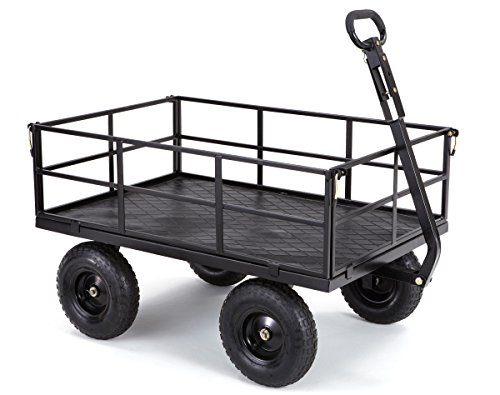 Gorilla-Carts-Heavy-Duty-Steel-Utility-Cart-with-Removable-Sides-and-13-Tires-with-1200-lb-Capacity-0