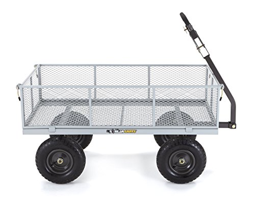 Gorilla-Carts-Heavy-Duty-Steel-Utility-Cart-with-Removable-Sides-with-a-Capacity-of-1000-lb-Gray-0-1