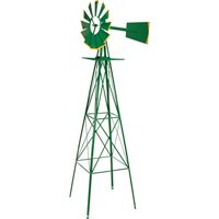Green-and-Yellow-8-Ft-Ornamental-Windmill-0-0