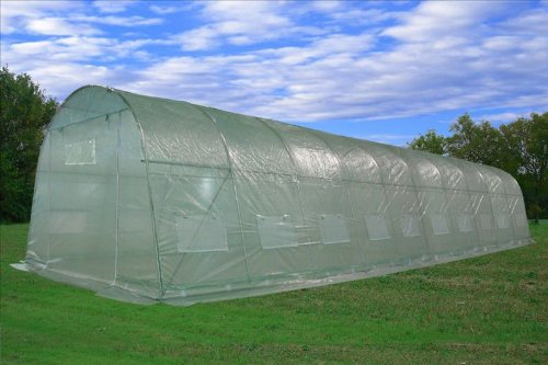 Greenhouse-33x13x75-Large-Heavy-Duty-Green-House-Walk-in-Hothouse-185-Pounds-By-DELTA-Canopies-0-0
