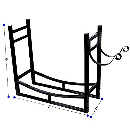 HIO-Heavy-Duty-Firewood-Racks-3-Foot-IndoorOutdoor-Log-Rack-with-Kindling-Holder-30-Inch-Tall-0-0