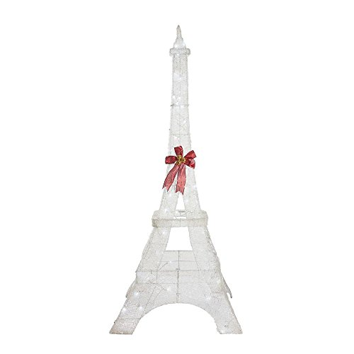 Home-Accents-Holiday-86-in-Durable-Metal-Frame-LED-Lighted-Twinkling-Weather-Resistant-PVC-Eiffel-Tower-0