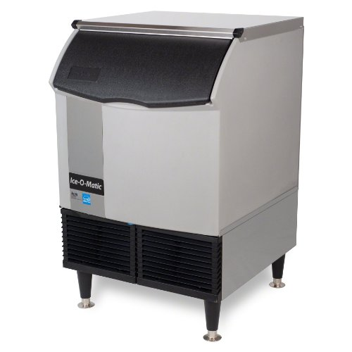 Ice-O-Matic-ICEU150HA-Air-Cooled-185-Lb-Half-Cube-Undercounter-Ice-Machine-0