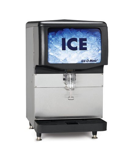 Ice-O-Matic-IOD150-150-Lb-Capacity-22-Wide-Ice-Dispenser-w-Bin-Kit-KBT15022-0