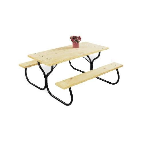 Jack-Post-FC-30-Fiesta-Charm-Picnic-Table-Frame-0-0