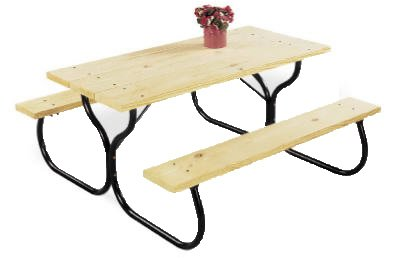 Jack-Post-FC-30-Fiesta-Charm-Picnic-Table-Frame-0