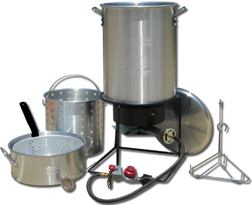 King-Kooker-1265BF3-Portable-Propane-Outdoor-Deep-FryingBoiling-Package-with-2-Aluminum-Pots-0