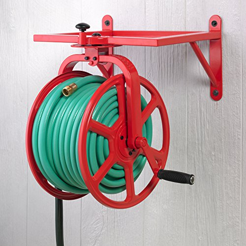 Liberty-Garden-713-Revolution-Multi-Directional-Hose-Reel-Red-0-0