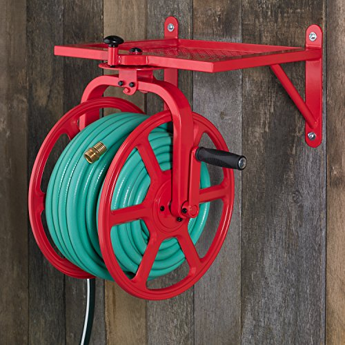 Liberty-Garden-713-Revolution-Multi-Directional-Hose-Reel-Red-0-1