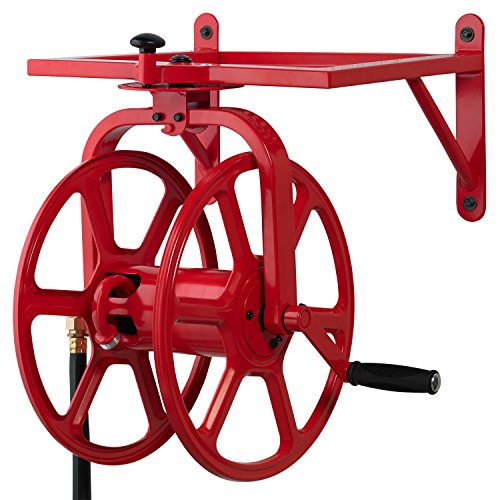 Liberty-Garden-713-Revolution-Multi-Directional-Hose-Reel-Red-0