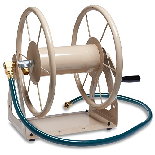 Liberty-Garden-Products-3-in-1-Garden-Hose-Reel-With-200-Foot-Hose-Capacity-703-1-Tan-0